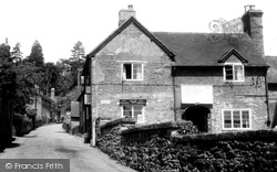 Upper Arley, The Old Post Office c.1957