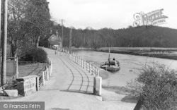 Upper Arley, The River And Ferry c.1939
