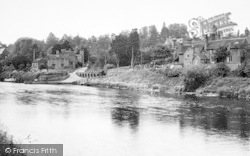 Upper Arley, The River c.1955