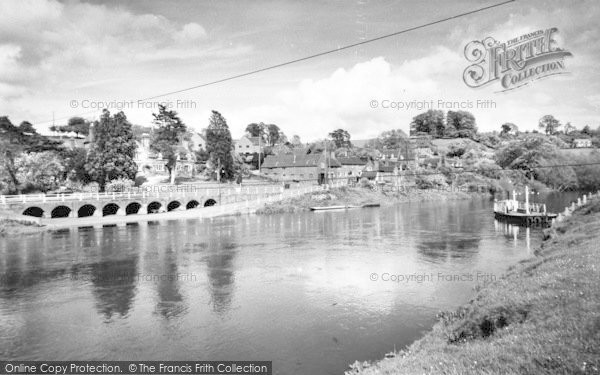 Photo of Upper Arley, The River c.1965