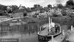 Upper Arley, The River Severn And Village c.1965