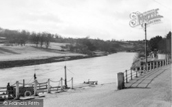 Upper Arley, The River Severn c.1950