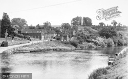 Upper Arley, The River Severn c.1955