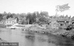 Upper Arley, The River Severn c.1960