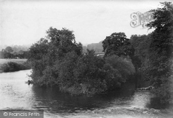 Upper Arley, The Severn Near Victoria Bridge 1904