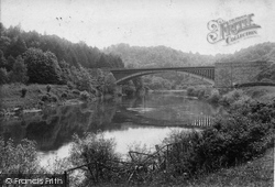 Upper Arley, Victoria Bridge 1910