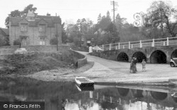 Upper Arley, View From The Ferry c.1960