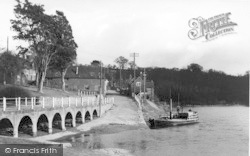 Upper Arley, View From The River Severn c.1950