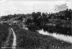 Upper Arley, Village And  River Severn 1910