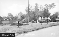 Cross Green c.1960, Upper Broughton