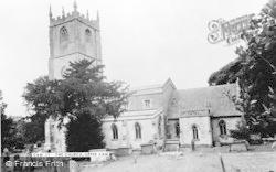 Upper Cam, St George's Church c.1955