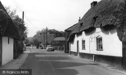 Upper Clatford, The Village c.1960