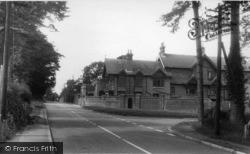 Upper Dicker, The Cross Roads And The Dicker (St Bede's School) c.1955