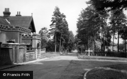 Upper Dicker, The Cross Roads c.1950