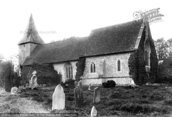 Farringdon, All Saints Church 1907
