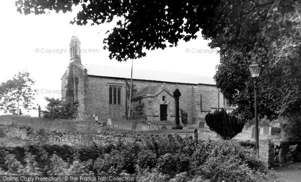 Upper Langwith, the Church c1955