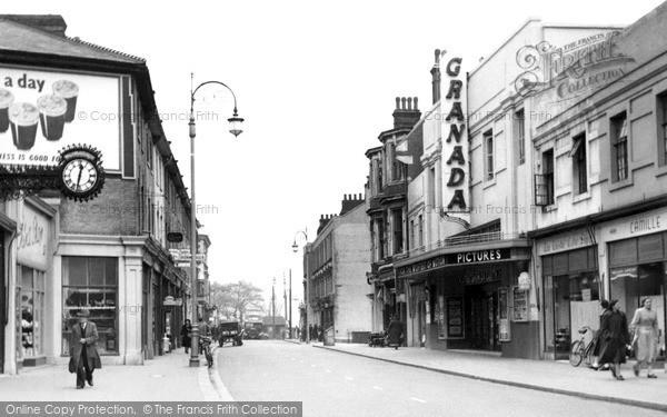 Photo of Upper Norwood, Church Road c.1955