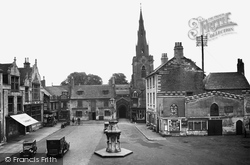 Uppingham, Market Place And The Church 1932