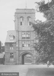 Uppingham, School Gateway 1922