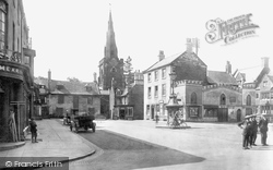 Uppingham, The Market Place 1922