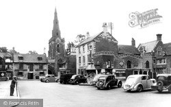 Uppingham, The Market Place c.1955