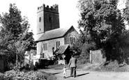 Upton Hellions, Church c1965