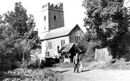 Upton Hellions, the Church c1965