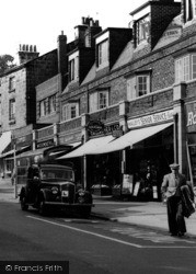 Upton, Shops On Ford Road c.1960