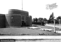 Upton, The Public Library c.1955