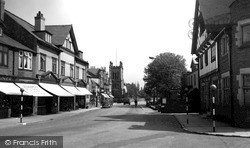 Upton, The Village And Church c.1955