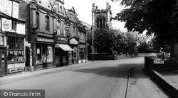 Upton, Village And Church c.1960
