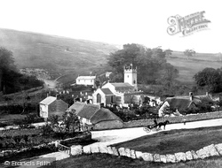 Upwey, St Lawrence's Church And Village c.1870