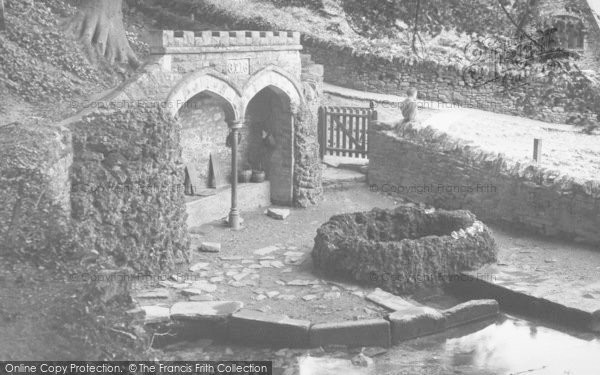 Photo of Upwey, The Wishing Well c 1935 - Francis Frith