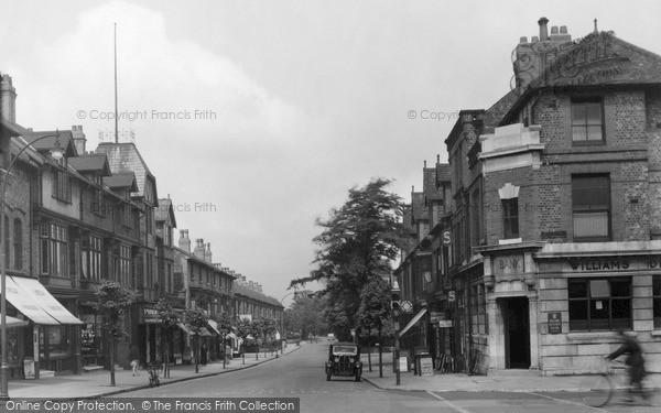 Photo of Urmston, Crofts Bank Road c.1950