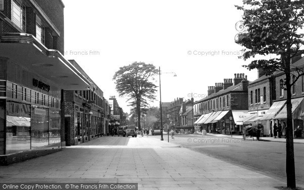 Urmston, Flixton Road c1950