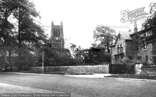 Photo of Urmston, St Clement's Church c.1950