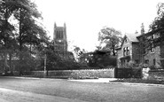 Urmston, the Parish Church c1950