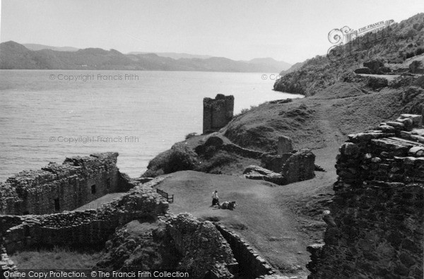 Photo of Urquhart Castle, And Loch Ness 1952