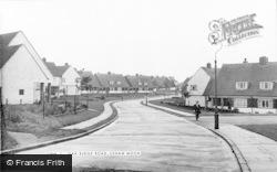 Ushaw Moor, Oak Ridge Road c.1955
