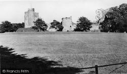 Usk, Barham Court Park c.1960