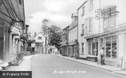 Usk, Bridge Street c.1960