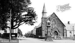 Usk, Raglan Road c.1960