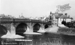 Usk, The Bridge c.1955