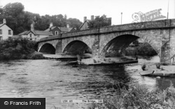 Usk, The Bridge c.1960
