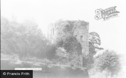 Usk, The Castle c.1955