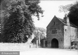 Usk, The Priory Gateway 1937