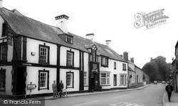 Usk, The Three Salmons Hotel c.1965