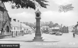 Usk, Twyn Square c.1960
