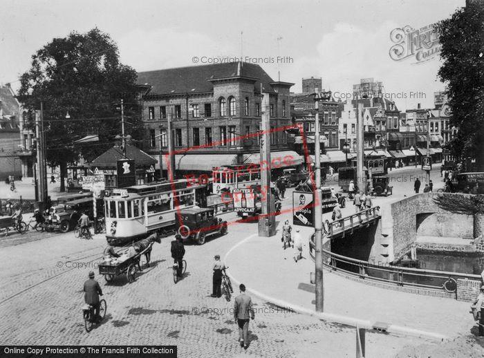 Photo of Utrecht, Catharijnebrug c.1930