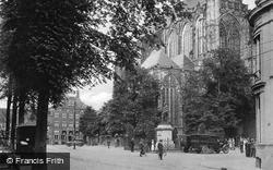 Domplein, Cathedral And Jan Van Nassau's Statue c.1930, Utrecht